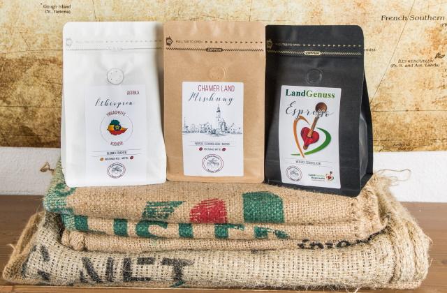 Kaffee - Tütenfarben
