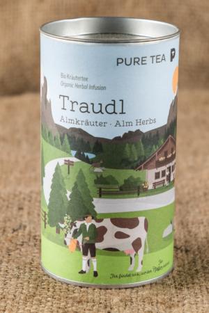 Tee-lose-Dose-Pure-Tea-Traudl